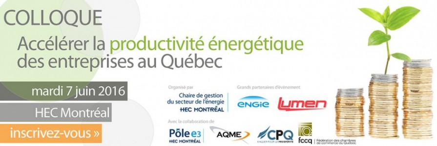 Productivité énergétique